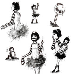 Peneloppe Sketchy Crazyness by MisSYosHi