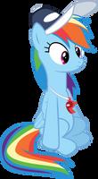 Trainer Rainbows Bland Expression by IAmADinosaurRARRR