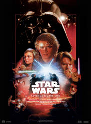 Star Wars III : Revenge Of The Sith - Movie Poster by nei1b
