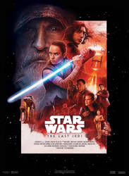 Star Wars VIII : The Last Jedi - Movie Poster by nei1b