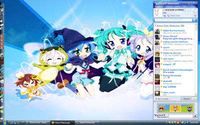 Blue Desktop by rai-rai-chan