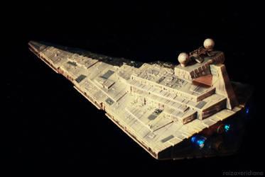 Imperial Star Destroyer by rai-rai-chan
