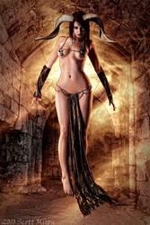 Demoness by MISSAMEERAH