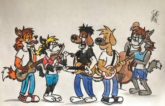 Bluegrass is Always Greener by Fox-Jake