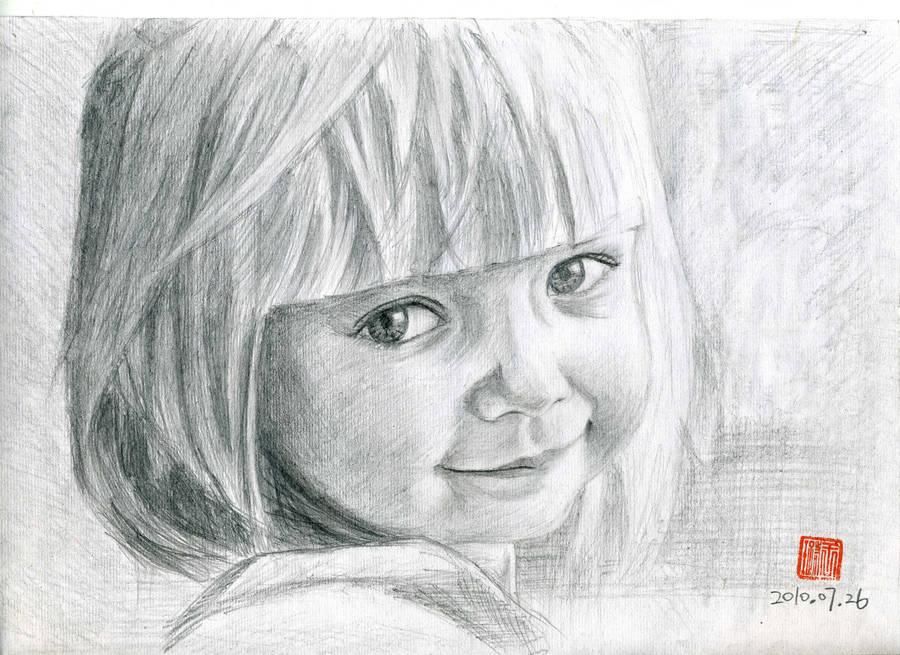 A baby girl by coolwanglu