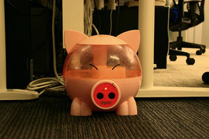 Day 258: Happy Piggy by coolwanglu
