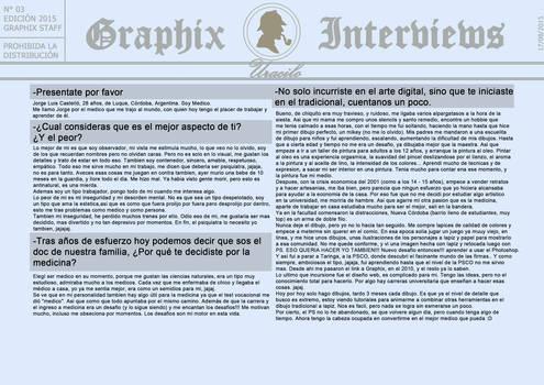 Graphix Interviews #3 (Part 1) by Graphix-Team