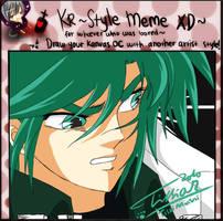 CR: Mission style meme Kurata by Tc-Chan