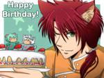 DAF : Happy Birthday by Tc-Chan