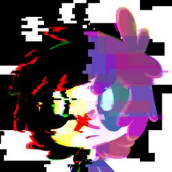 glitch by InkyFirefly