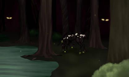 Dark forest by Maddybr