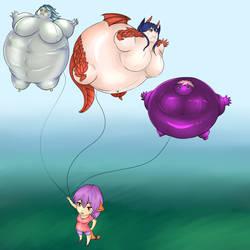 Balloon Scarlett by super-spartan