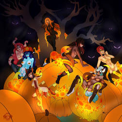 Tentacle Pumpkin by super-spartan
