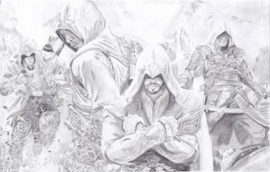 Four Legends by ForeverFallen16