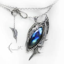 RUQTULL DRACOH ( dragon's eye ) by LUNARIEEN