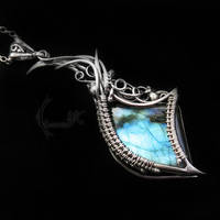NUNHTIRMAX - silver and labaradorite by LUNARIEEN