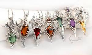 Necklaces by Lunarieen UK by LUNARIEEN