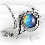 LUNAMTRIEEL - silver and moonstone by LUNARIEEN