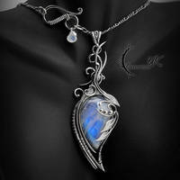 NAZDRYZZIL - Silver and Moonstone by LUNARIEEN