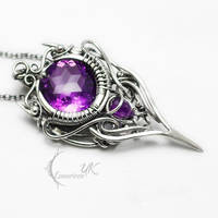 NEVELIUNX Silver and Amethyst by LUNARIEEN