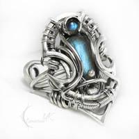 IXARTULX Silver and Labradorite by LUNARIEEN