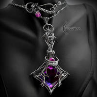 XHARTNIL EZNERII - Silver, Alexandrite and Agate. by LUNARIEEN