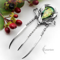Silver Comb ANHTRIEEL by LUNARIEEN