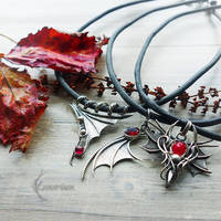 New Collection - Chokers! ( dragon's style) by LUNARIEEN