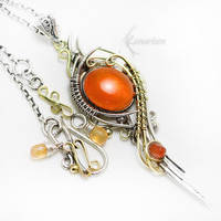 LARREVILTH Silver, Gold and Opal by LUNARIEEN
