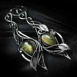 XENTRILTH Silver and Labradorite by LUNARIEEN