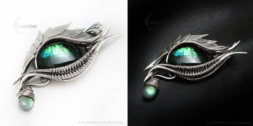 ILANNERTH Silver and Labradorite by LUNARIEEN