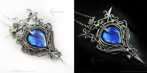EDAREMARTH Silver and Labradorite by LUNARIEEN