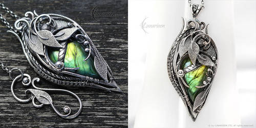 SEHRIA XANTRIS - Silver and Labradorite by LUNARIEEN