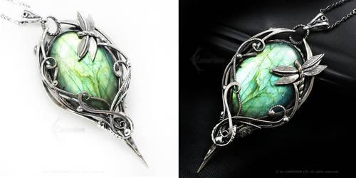MADARRHAX Silver and Labradorite by LUNARIEEN
