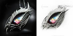 RAXAMMARD DRACO Silver and Labradorite by LUNARIEEN