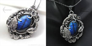 TNIRYISS - Silver and Labradorite by LUNARIEEN