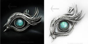 RAMADIERTH DRACO Silver and Labradorite by LUNARIEEN