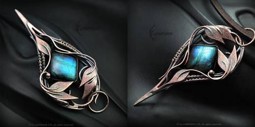 NEHTREZIL - Copper and Labradorite by LUNARIEEN