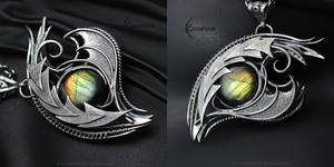 ASERDIARTH DRACO Silver and Labradorite by LUNARIEEN