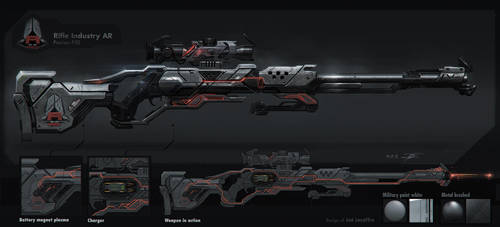 Rifle Industry AR precisor P50 by JoeLesaffre