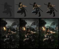 Close Up Tomb Raider by JoeLesaffre