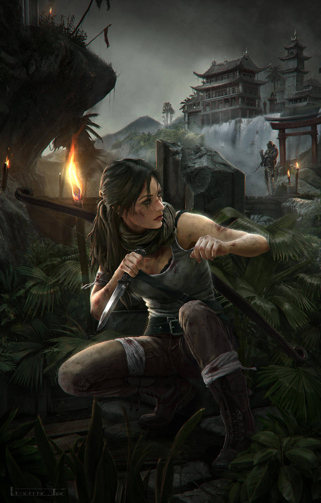 Tomb Raider Reborn: Stealth by JoeLesaffre