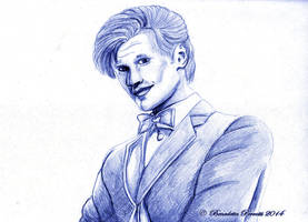 Matt Smith as The Doctor by Delew