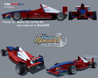 Formula BMW - VirginBlue by RoShinAU