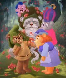 The Gummi Bears by maddagone