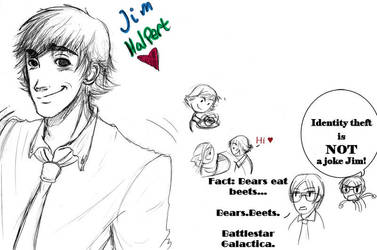 Jim Halpert by Izzymatic