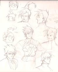 Kai hand drawing by Baekim
