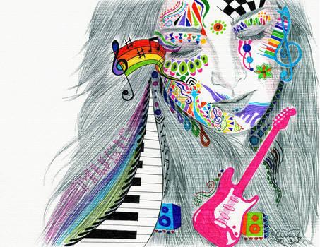 Music Friend by Cindy-R