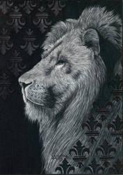 Ballpen Lion by Cindy-R