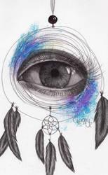 Dreamcatcher Eye by Cindy-R